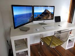 white computer desk with bookshelf bench combined corner floor