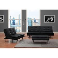chelsea convertible chair black walmart com