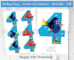 Finding Nemo Centerpieces by Finding Nemo Centerpiece Finding Nemo Pinterest Finding Nemo