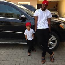 Peter Okoye 's Son Cameron is Five  Year Old  Today.