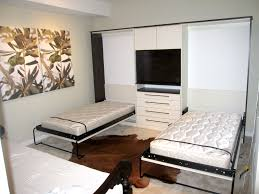 Two Twin Beds In Small Bedroom Furniture Space Saving Funiture For Small Bedrooms Be Equipped