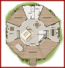 bedroom granny flat with office house plan 62 size 62 7 m2