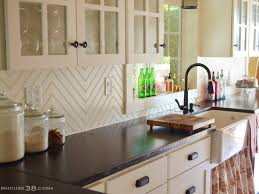 White Tile Kitchen Backsplash Mosaic Tile Kitchen Backsplash Ideas On A Budget Mirorred Glass