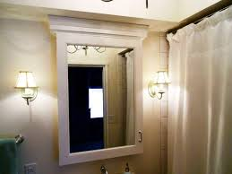 Bathroom Mirror With Lights Built In by Bathroom Cabinets Pegasus Medicine Cabinet Unfinished Wood