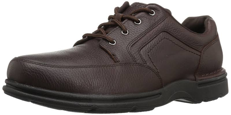 Rockport Eureka Plus Lace-Up Oxford Shoes, Wide Brown, 9.5