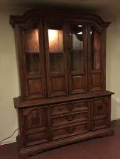 oak china hutch furniture ebay