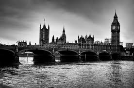 Wallpaper Black And White by London City Black White Bridge Sturdy Big Ben Road London