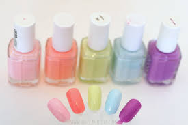 video top 5 spring nail polish giveaway getglammedup
