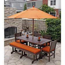 Outdoor Seating by Outdoor Dining Bench Home Design Ideas And Pictures
