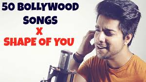 50 bollywood songs on one beat shape of you mashup cover