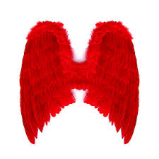 Red Wings Halloween Costume Extra Large Red Halloween Feather Angel Wings Polyvore