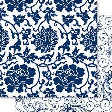 china blue 12x12 cardstock may blossom