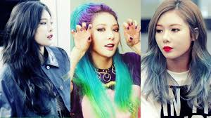 hyuna u0027s hair through the years kpop korean hair and style
