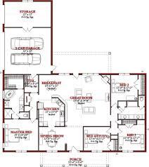 Simple 4 Bedroom Floor Plans Ranch House Floor Plans 4 Bedroom Love This Simple No Watered