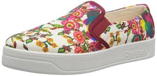 Desigual Home Decor Desigual Women U0027s Abril Pink Boat Shoes 3 5 Uk Amazon In Shoes