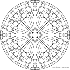 downloads online coloring page free printable mandalas coloring