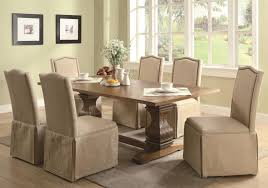 furniture cream parson with square wooden parsons chairs for