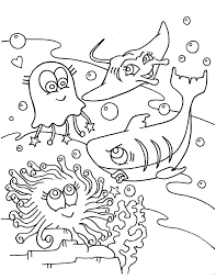 free coloring pages of sand tiger shark 4070 bestofcoloring com