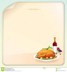 greeting for thanksgiving thanksgiving card with roasted turkey bird stock photo image