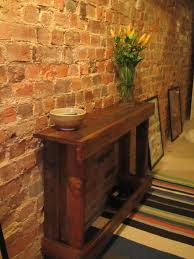 Fake Exposed Brick Wall Pleasureable Entryway Decor View With Traditional Exposed Brick