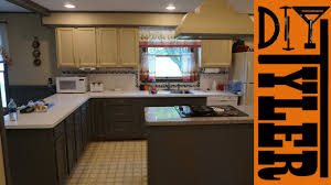 Chalk Paint For Kitchen Cabinets Modify And Refinish Kitchen Cabinets With Chalk Paint 031 Youtube
