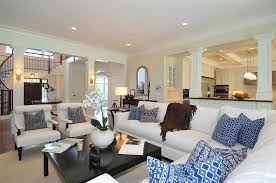 Decorating An Open Floor Plan Decorating Open Floor Plan Jillian Klaff Homes Living Rooms