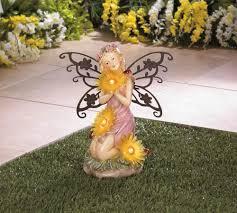 garden blooms fairy solar statue wholesale at koehler home decor