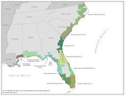 Map Florida Gulf Coast by Region Iv Coastal Maps Atlantic And Gulf Coast Flood Hazard