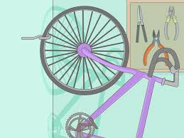 Ceiling Bike Hook by How To Hang A Bike On The Wall 14 Steps With Pictures Wikihow