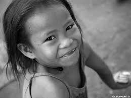 Image of a homeless child in Malate, Manila