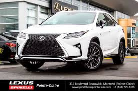 lexus canada second hand used 2017 lexus rx 350 f sport serie 2 for sale in montreal