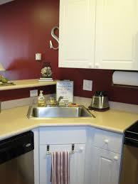 corner kitchen sink design ideas home and interior