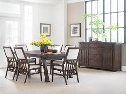 stanley fairlane 7pc dining room set with oval table and