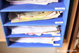 School papers to print for kids     How To Store Kid     s School Papers   I am often asked how to store kid     s school