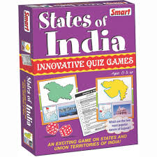 India Map Quiz by Smart States Of India Quiz Game Educational Flash Cards Homeshop18