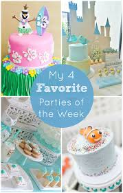 summer frozen party and more catch my party