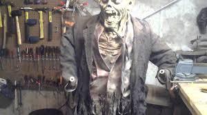 diy animated shiatsu zombie halloween prop full build youtube
