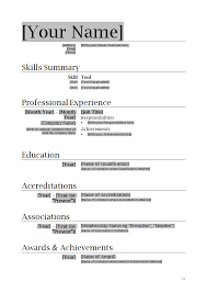 how to write a professional resume and cover letter template