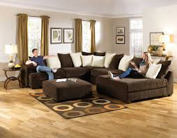 Chocolate Living Room Furniture by Jackson Axis Large Sectional Sofa Set Chocolate Jf 4429 62 36 38