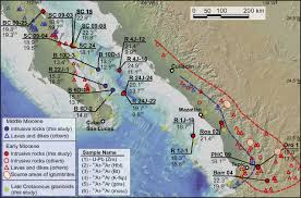 Sierra Madre Occidental Map Timing Of Rifting In The Southern Gulf Of California And Its
