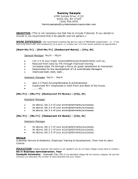 Cosmetologist Resume Objective Restaurant Job Resume Sample Resume Pinterest Job Resume