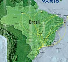 Carrier Route Maps by Brazil Flights Advice U0026 Domestic Airline Routes