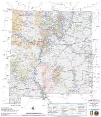 Map Of Juarez Mexico by Large Detailed Tourist Map Of New Mexico With Cities And Towns