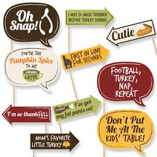 funny thanksgiving stories for kids amazon com funny turkey day thanksgiving photo booth props 10