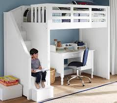 Bedroom Brilliant Kids Bunk Beds With Desk Latitudebrowser Loft - Kids bunk bed with desk