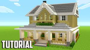 How To Build A Cottage House by Minecraft How To Build A Suburban House Minecraft Tutorial 2017