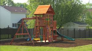 Cedar Playsets Outdoor Playset Installation And Safety Tips Youtube