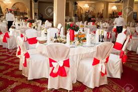 elegant round party table setting could be for a wedding