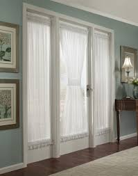 beautiful window curtain design with white trim tones on greige