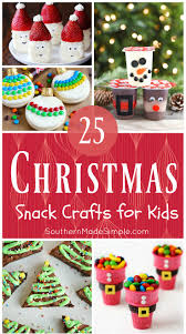 25 edible christmas crafts for kids southern made simple